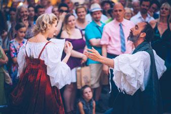 Dubrovnik event, two actors