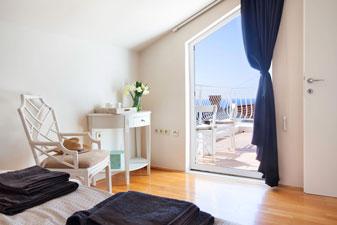 Interior of apartment in Dubrovnik