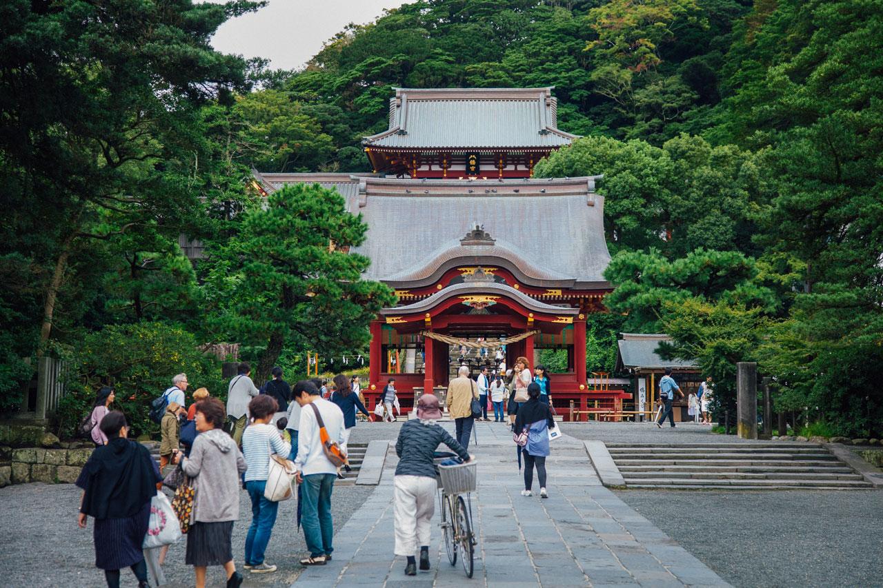 Tsurugaoka Hachimangu temple