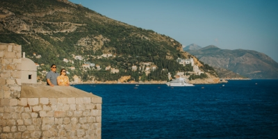 Dubrovnik City Walls photo shoot