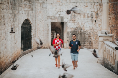 Dubrovnik wedding photo session