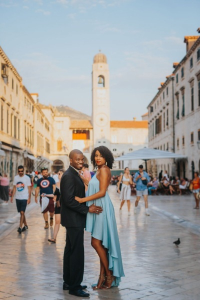 Dubrovnik photo shoot