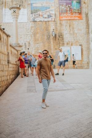 Dubrovnik solo individual photo shoot