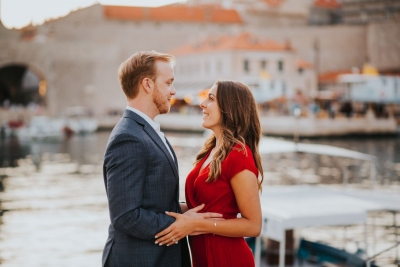 Dubrovnik engagement photo session