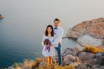 Dubrovnik, park Orsula & Srdj photo session