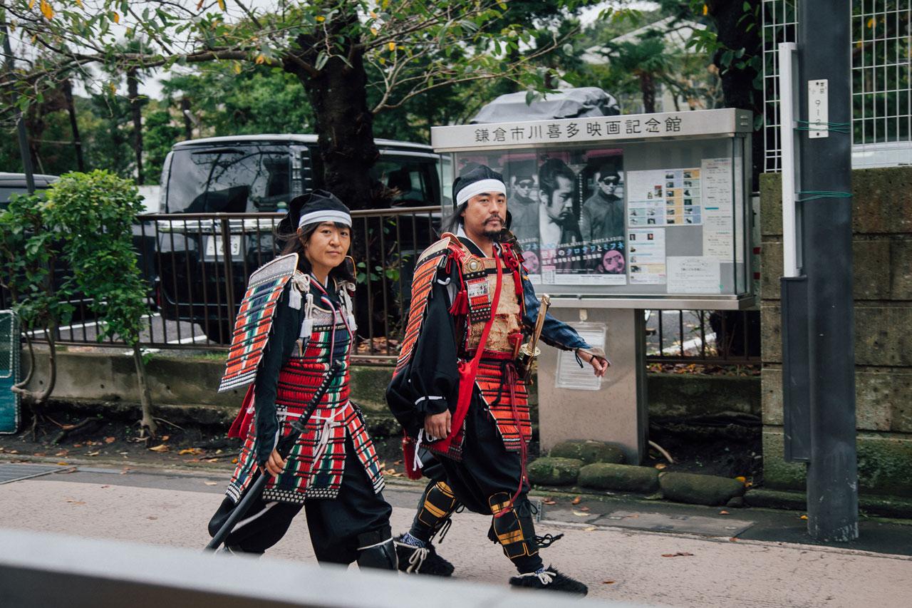 Samurai in Kamakura