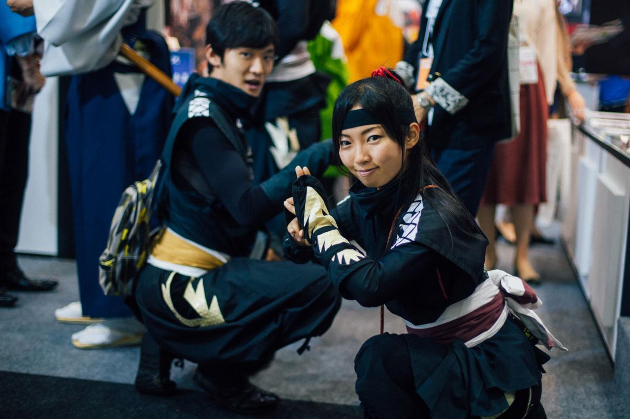Ninjas in Tokyo